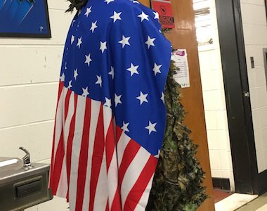 Spirit Week Score Update: America Day!