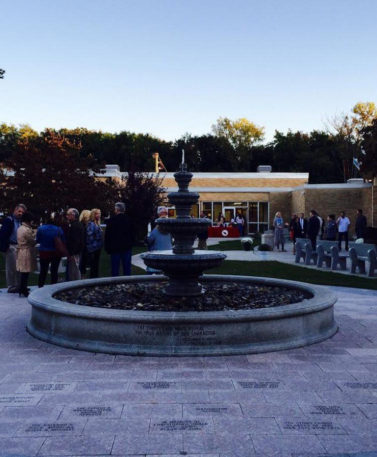 Courtyard Ribbon Cutting Ceremony