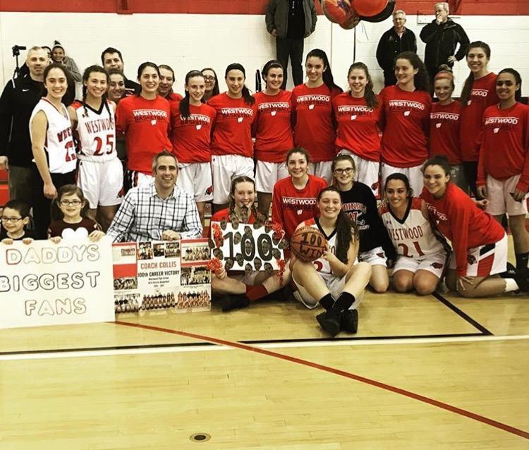 100 Wins for Coach Collis