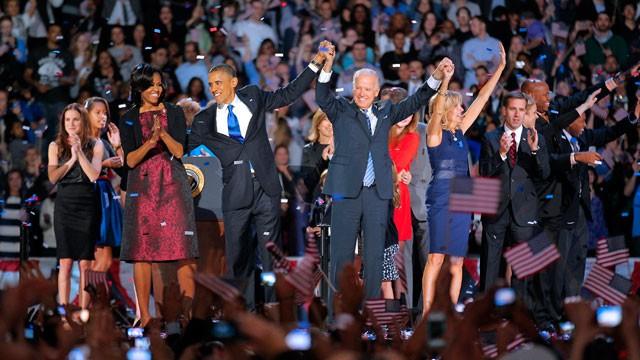 Barack Obama Reelected