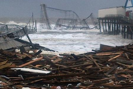 New Jersey, New York Areas React to Sandy