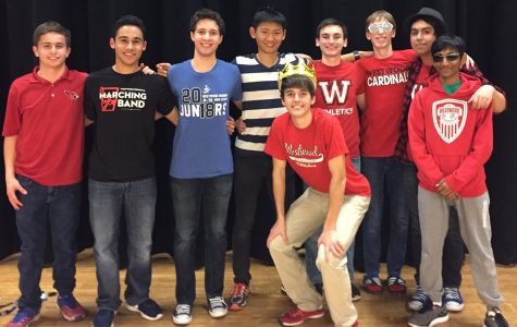 Alex Pirola takes the crown at Mr. Westwood