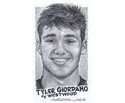 Westwood's Tyler Giordano wins The Record Male Athlete of the Week